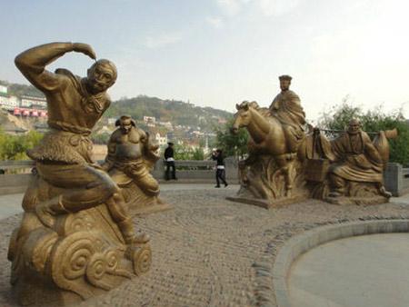 兰州城市雕塑