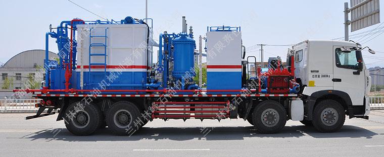 冲破油田洗井车的传统化不断进步与发展趋势