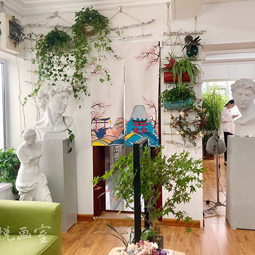 画室绿化区