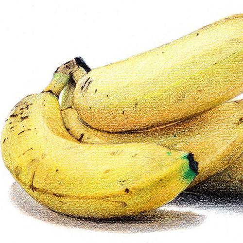 彩铅-香蕉