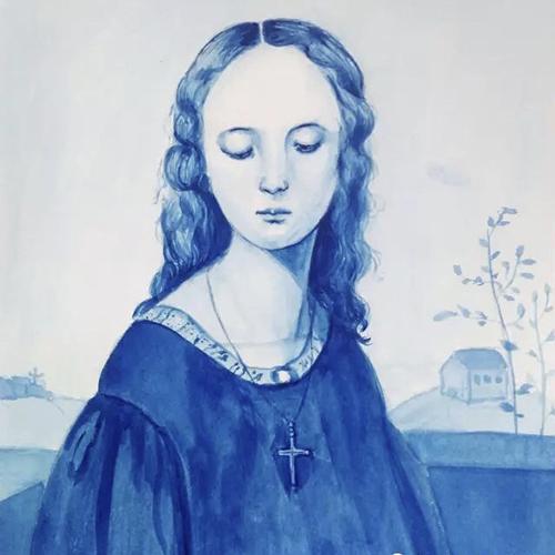 插画-修女
