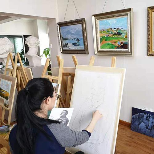 兰州美术画室