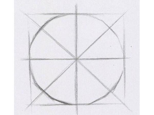 素描球体画教程