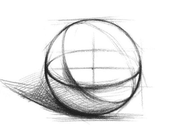 零基础学素描画教程
