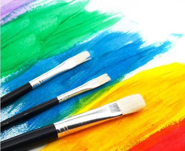 水粉画具体着色
