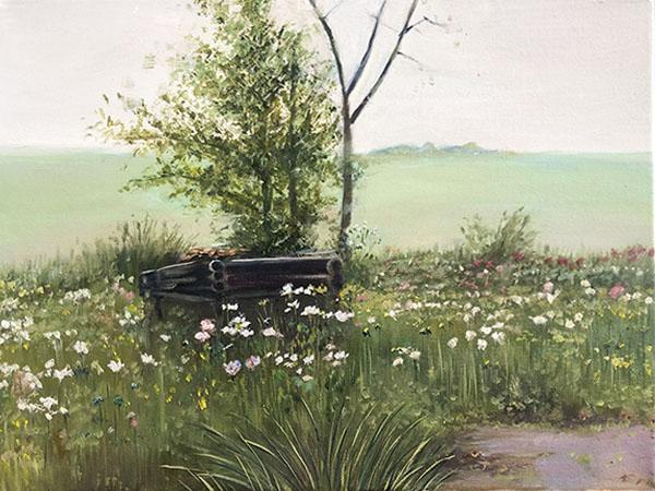 风景油画作品