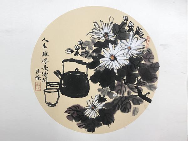 国画-花卉