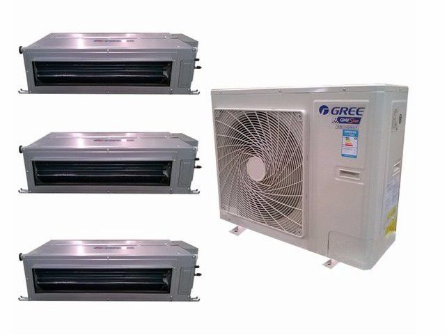 多联机中央空调和风管机有什么区别