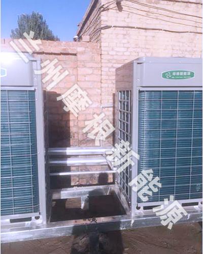 空气能热泵工程在阿拉善农家乐的案例