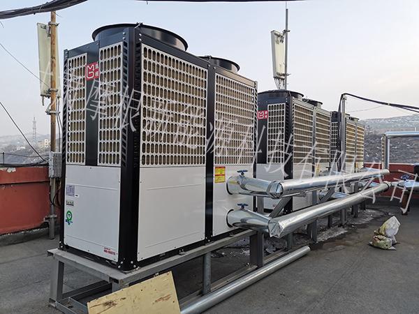 广河宾馆空气源热泵采暖项目