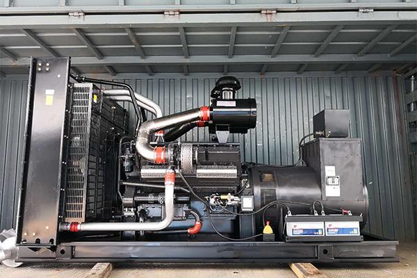 600kw凯普系列发电机组发货