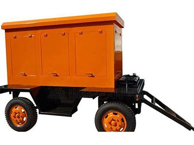 50kw移动拖车发电机