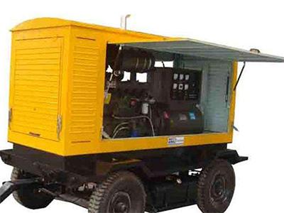 100kw移动拖车发电机