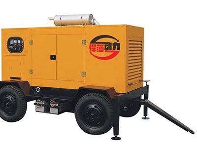 甘肃300kw移动拖车发电机