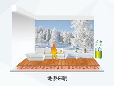 空气能地暖机组