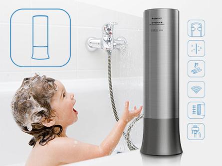 舒智空气能热水器安装