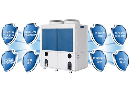 热回收模块式风冷冷水机组安装