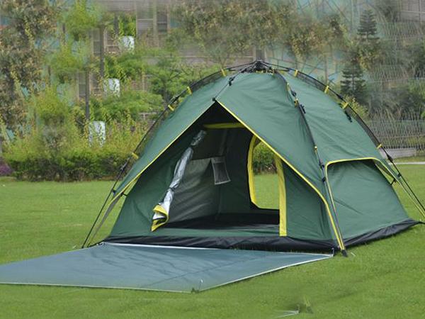 定西帐篷厂家为您分享野外露营的帐篷搭建小技巧
