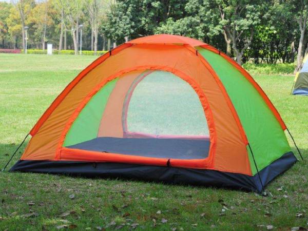 说一说搭建双人帐篷的方法是什么?