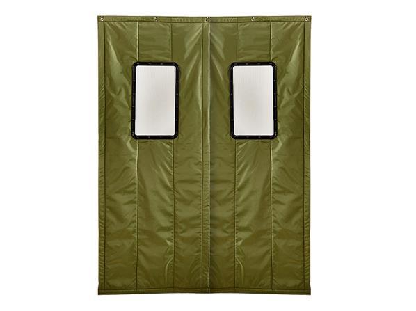 棉門簾廠家簡述如何挑選優良的棉門簾呢?