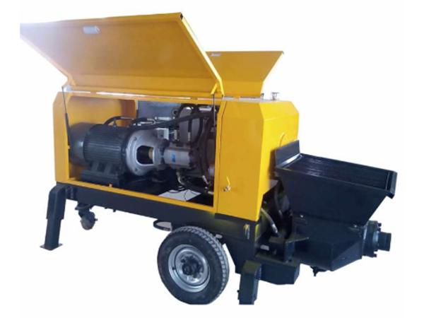 教你如何选购使用混凝土输送泵!