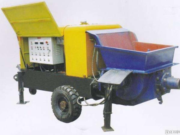 兰州细石混凝土泵厂家告诉您混凝土输送泵的使用步骤