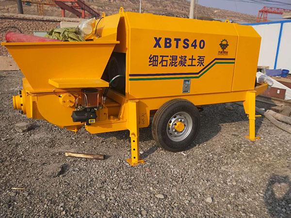 40混凝土输送泵租赁