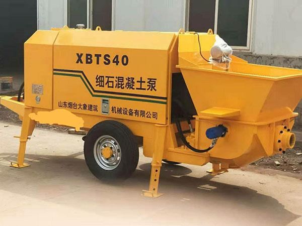 细石混凝土砂浆泵租赁