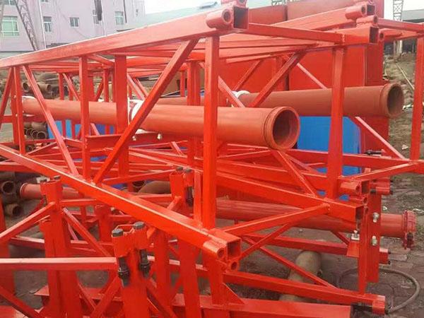 兰州新型圆筒式布料机杆