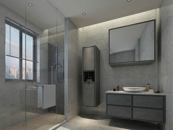 全铝浴室柜安装