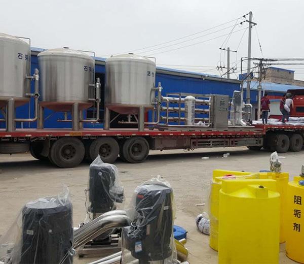 食品厂净水设备出厂