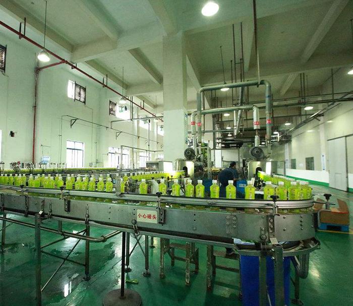 兰州茶饮料灌装生产线