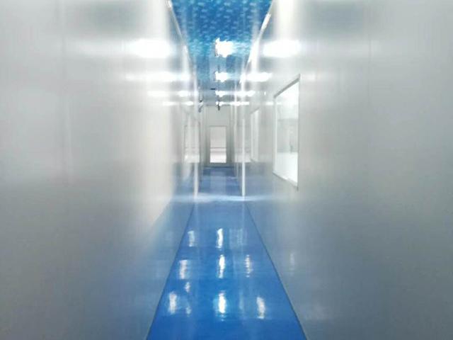 甘肃食物厂车间污染工程走廊