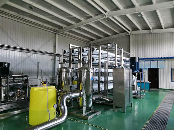 甘肃兰州Agingames为柳园辉铜山有限责任公司分享水处理反渗透设备