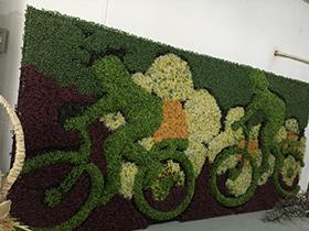 室外绿植墙
