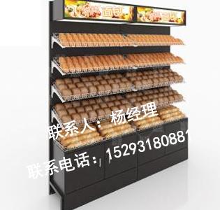 面包店钢木货架