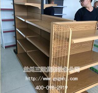 文体店钢木货架