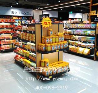 食品店超市货架