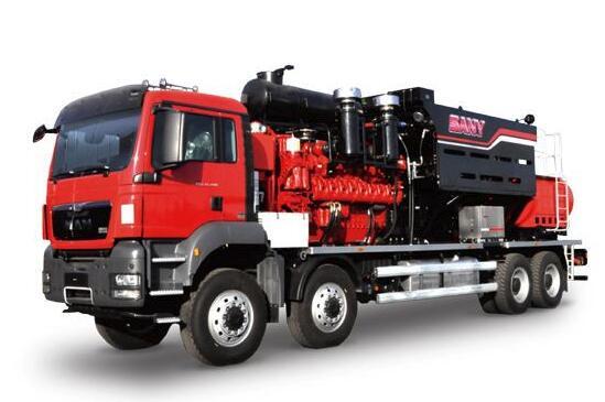 2500型液压传动型压裂车组礁石坝压裂施工取得成功