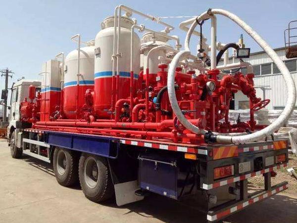 说一说油田洗井车作业的特点有哪些?