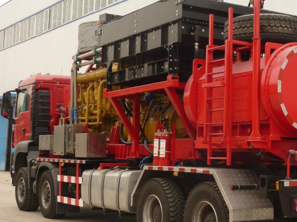 壓裂車廠家為您分享石油壓裂車具備哪些特點?