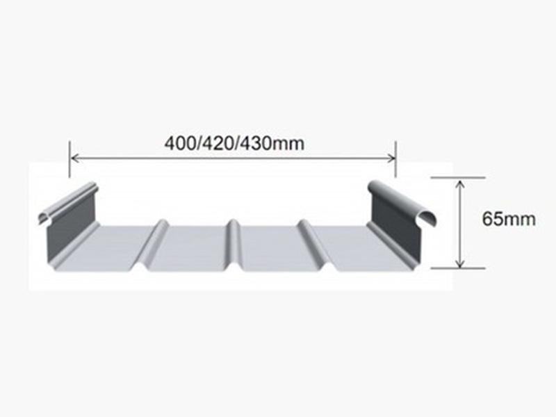 铝镁锰板金属屋面板