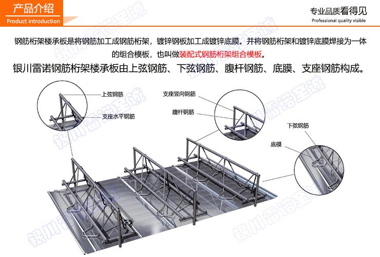 钢筋桁架楼承板的安装步骤
