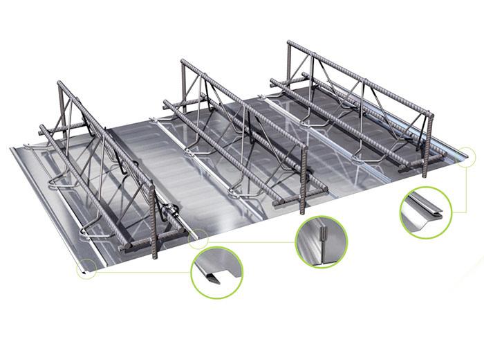 TDV型钢筋桁架楼承板