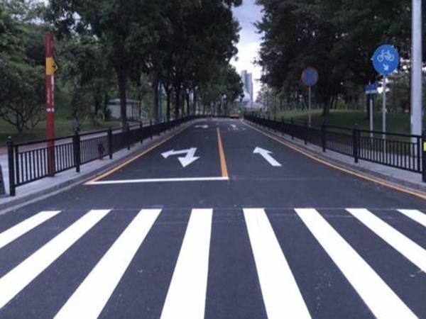 道路标线、地下停车场标线施工常见问题。