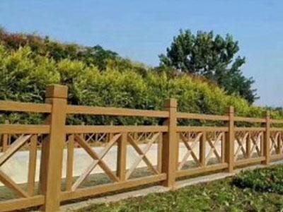 选择水泥仿木护栏有哪些好处?