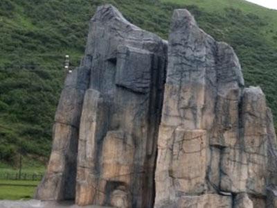 宁夏塑石假山公司讲述塑石假山的制作艺术