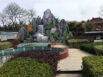 庭院花园设计怎样打造仿真假山?