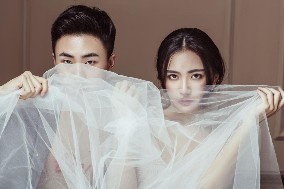 兰州个性婚纱摄影