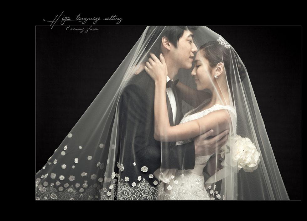 兰州纯色韩式专业婚纱摄影店